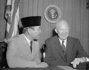 Soekarno &amp; Dwight Eisenhower