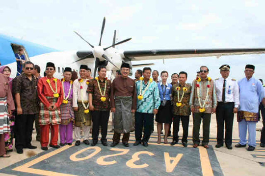 Peresmian Perdana Sky Aviation