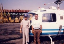 Photo of Yum Soemarsono, Bapak Helikopter Indonesia.