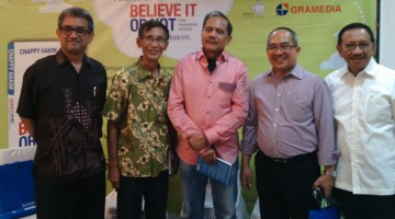 Launching Buku Believe It or Not