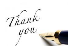 Photo of Terimakasih, terimakasih dan terimakasih.