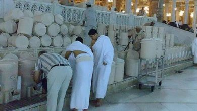 Photo of Air Zamzam dan Mukjisatnya.