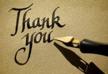 Photo of Terimakasih Banyak untuk Semua!