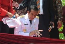 Photo of Jokowi dengan Demonstran.