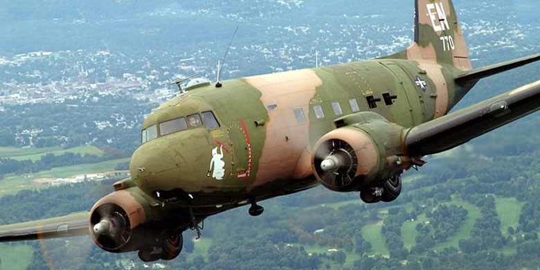Photo of Pesawat Terbang Legendaris Douglas AC-47 Spooky