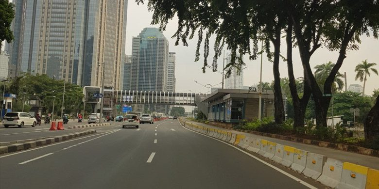 Jakarta Sepi Sekali