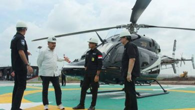 Photo of Heliport tertinggi di Jakarta.