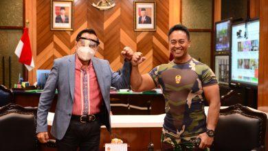 Photo of Bertemu KSAD, Chappy Hakim Bahas Peningkatan Kualitas Perwira TNI