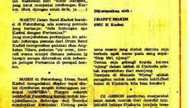 Photo of Tulisan 50 tahun yang lalu
